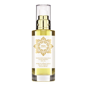 REN Moroccan Rose Gold Glow Perfect Dry olio