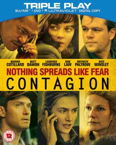 Contagion - Triple Play (Blu-Ray, DVD and Digital Copy)