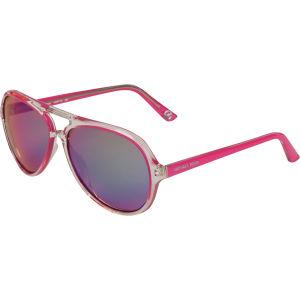 MICHAEL MICHAEL KORS Women's Caicos Clear Plastic Style Sunglasses - Fushia