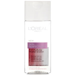 L'Oreal Paris Dermo Expertise Skin Perfection 3 in 1 Purifying Micellar Lösung (200 ml)