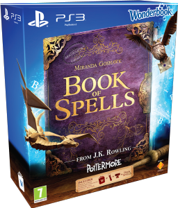 Book of Spells, Wonderbook, PS Eye Cam and Move Controller