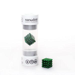 Nanodots Magnetische Kügelchen, grün, 64 Teile