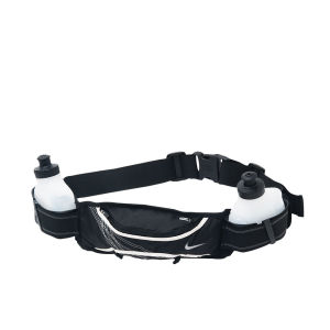 Nike Lightweight Hydration Belt 2 Bottle - Black