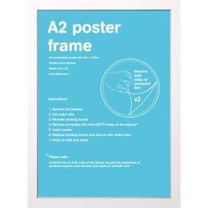 White Frame A2