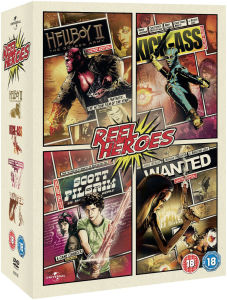 Wanted / Kick-Ass / Scott Pilgrim Vs. World / Hellboy 2