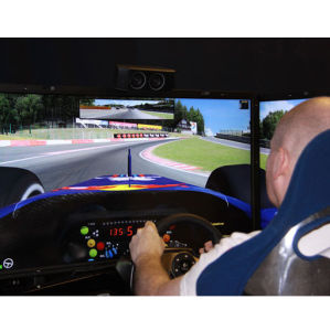 Driving Race Simulator Experience for One