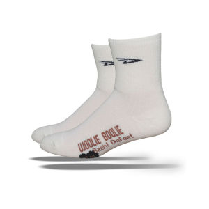 DeFeet Woolie Boolie Sheep 2 4 Inch Cuff Socks - White