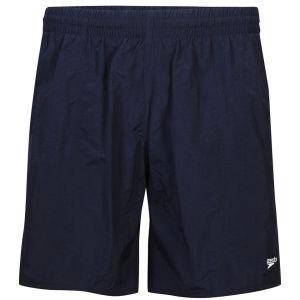 Speedo Men's Solid Leisure Shorts 16 Inch - Navy