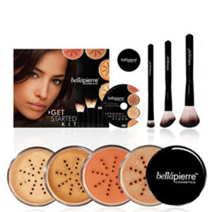 Bellápierre Cosmetics Get Started Kit Medium (Worth £154.97)