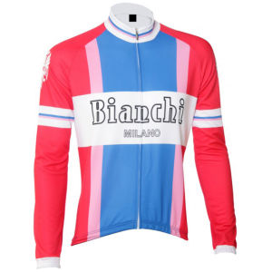 Bianchi Ravanusa Vintage Long Sleeve Jersey - Red