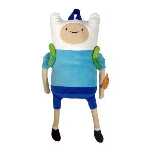 Adventure Time Finn Character Plush Backpack