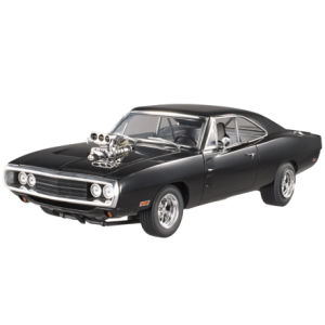 Hot Wheels Elite Fast and Furious 1970 Dodge Charger 1:18 Scale Model