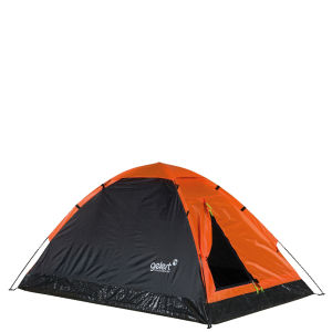 Gelert Monodome 2 Tent - Red Orange/Charcoal