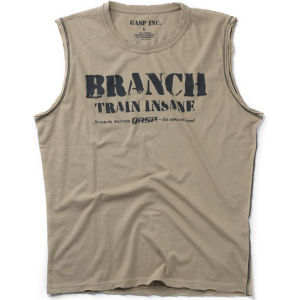GASP Branch Spp Short Sleeve T-Shirt - Desert