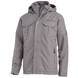 Merrell Men's Catalyst Insulated Water Resistant Jacket - Manganese Grey