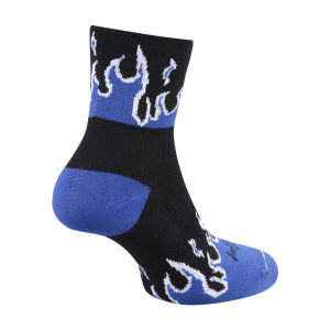 Sockguy Flames Cycling Socks