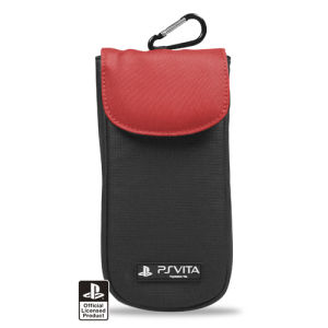 Officially Licensed PS Vita Red Clean n Protect Pouch