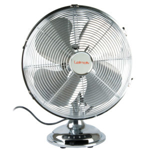 Table Fan Gust Steel Chrome