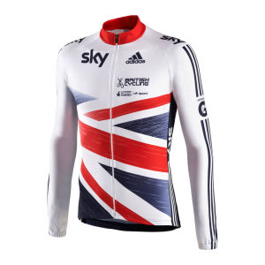 Adidas British Cycling Team Ls Jersey - 2013