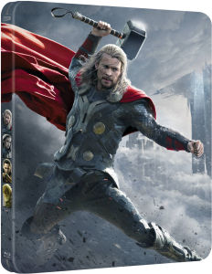 Thor 2: The Dark World 3D - Steelbook Exclusivo de Zavvi (Edición Limitada) (Incluye Versión 2D)