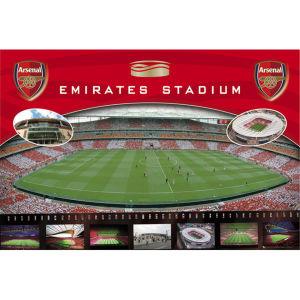 Arsenal Emirates - Maxi Poster - 61 x 91.5cm