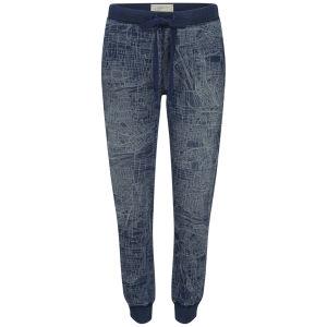 Current/Elliott Women's Slim Vintage Sweatpants - Vernon Blueprint