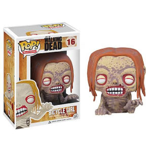 The Walking Dead Bicycle Girl Zombie Funko Pop! Vinyl