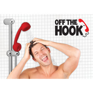 Retro Telephone Shaped Hand Shower