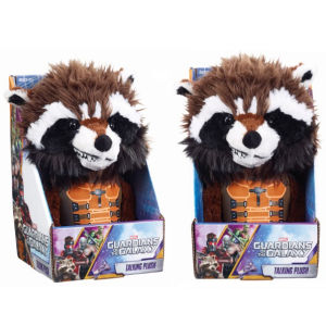 Marvel Guardians of the Galaxy Rocket Raccoon Pratende Knuffel (Engelstalig)