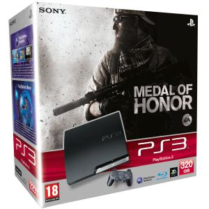 PS3 Slim 320Gb & Medal of Honor Ltd Edition Bundle