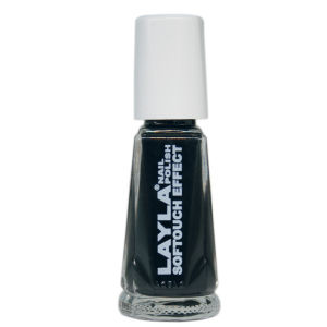 Layla Cosmetics Softouch Effect Nail Polish N.12 Noir Touch (10ml)