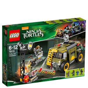 LEGO Teenage Mutant Ninja Turtles: Turtle Van Takedown (79115)