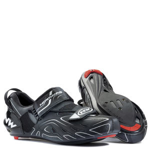 Northwave Tri-Sonic Triathlon Cycling Shoes - Black