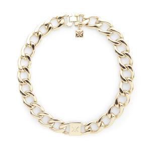 Kardashian Kollection KK Curb Chain Necklace - Gold