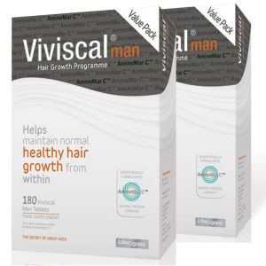 Viviscal Man 6 Month Supply Tablets (360 comprimés)