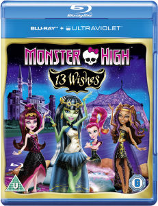 Monster High: 13 Wishes (Bevat UltraViolet Copy)