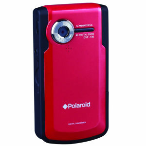 Polaroid USB Pocket Camcorder - Red (8 x Optical Zoom, 2-Inch LCD)