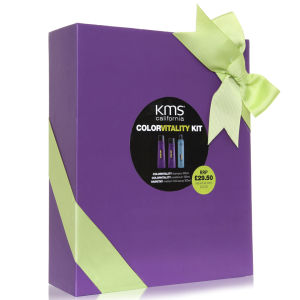 KMS California Colorvitality Shampoo, Conditioner & Anti-Humidity Seal Trio (worth £45.50)