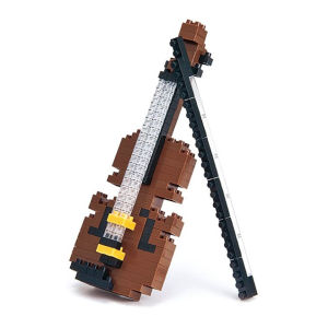 Nanoblock Geige
