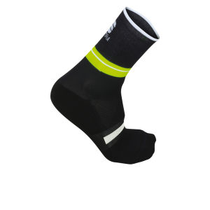 Sportful AC Vuelta 9 Socks - Black/Yellow