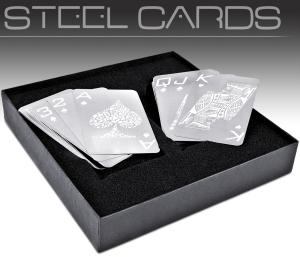 Nevada Stainless Steel Playing Cards