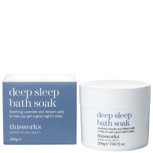 this works Deep Sleep sels de bain (200g)