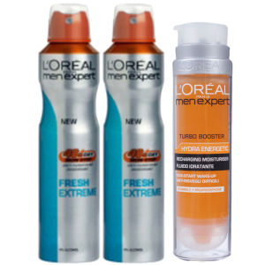 L'Oreal Paris Men Expert Fresh Extreme Bundle