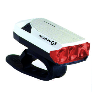 Moon GEM 2.0 USB Rear Light White