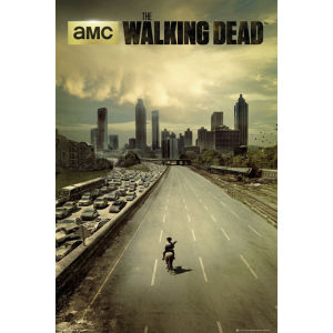The Walking Dead city - Maxi Poster - 61 x 91.5cm