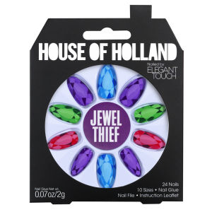 House of Holland Nails Created by Elegant Touch - Jewel Thief