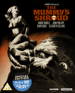 The Mummys Shroud - Double Play (Blu-Ray and DVD)