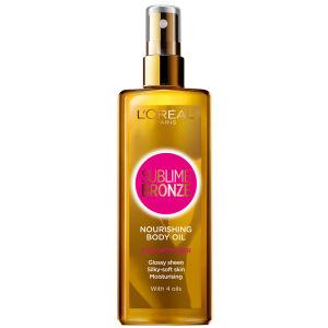 L'Oreal Paris Sublime Bronze Nourishing Body Oil Tan Optimiser (150ml)