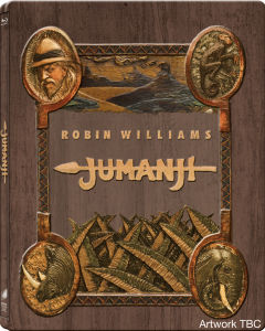 Jumanji Zavvi Exclusive Steelbook – Ultra Limited