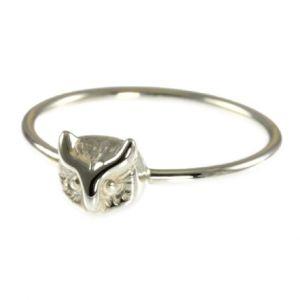 Jana Reinhardt Silver Owl Ring